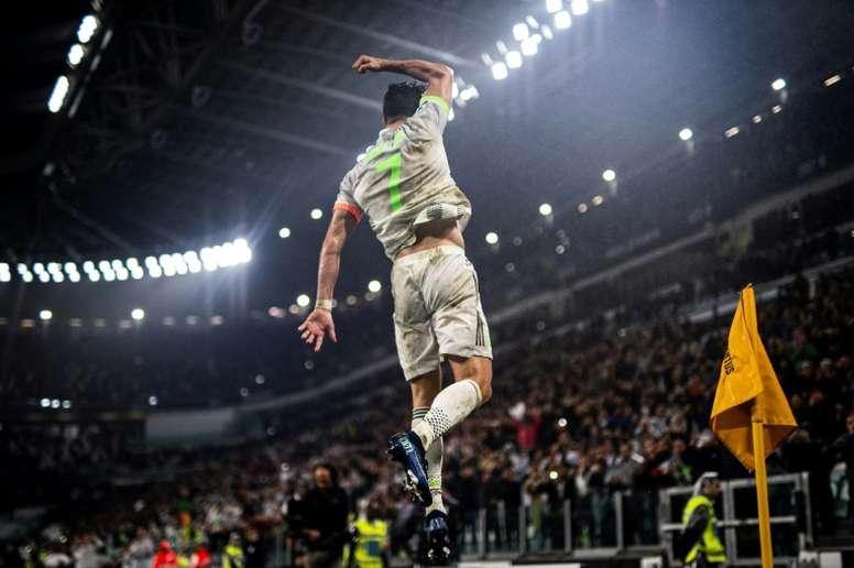 Cristiano Ronaldo absent contre Milan ? AFP