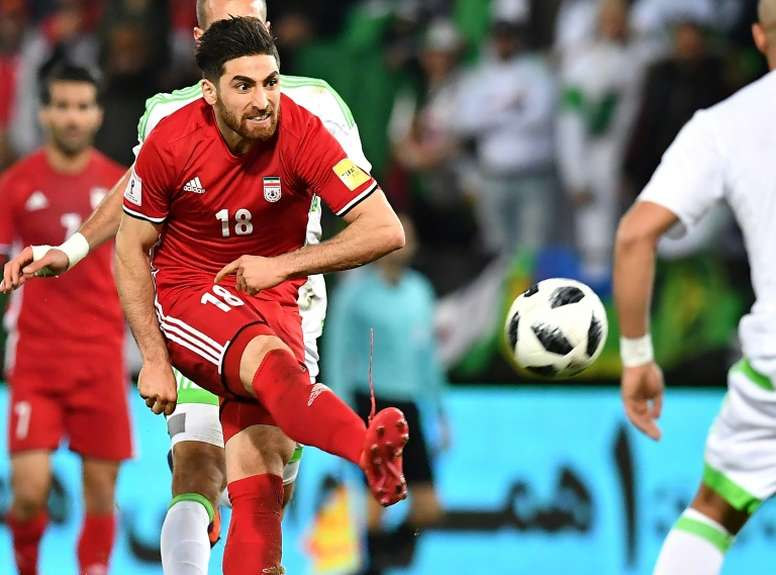 Jahanbakhsh enjoyed a fine season in front of goal. AFP