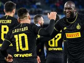 L'Inter étudie l'offre du Barça pour Lautaro. AFP