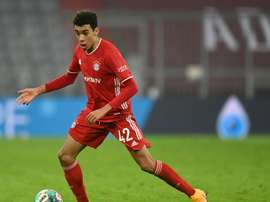 Joachim Low wants Jamal Musiala to play for Germany instead of England. AFP