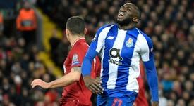 West Ham prepara-se para atacar a contratação de Marega. AFP