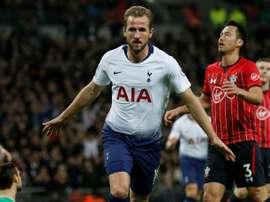 Tottenham raced home against the 'Saints'. AFP