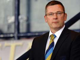 Craig Levein will not return to his role as Hearts director of football either. AFP
