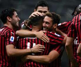 Calhanoglu piace al Manchester United. AFP