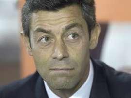 Técnico português de 46 anos assinou recentemente com o Rangers. AFP