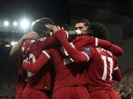 Bela exibição do time 'red', que vale a recuperação do 4º posto na tabela da liga. AFP