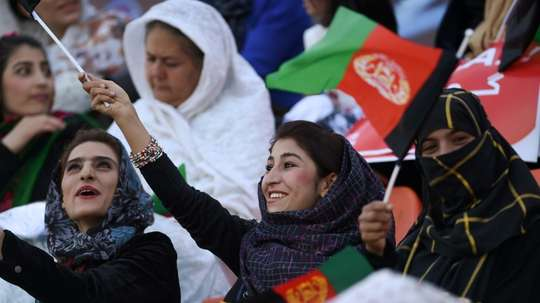 Players of Afghanistan women's national football team are alleged to have suffered sexual abuse. AFP