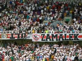 22 hinchas del Zamalek murieron en El Cairo en 2015. AFP