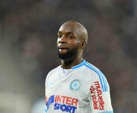 O último clube que Lass Diarra representou em França foi o Olympique de Marseille. AFP