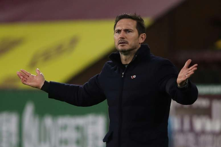 Lampard has called for change. AFP