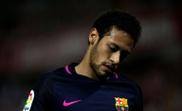 Neymar passe au second plan. AFP