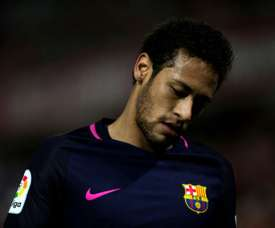 Neymar passe au second plan. AFP