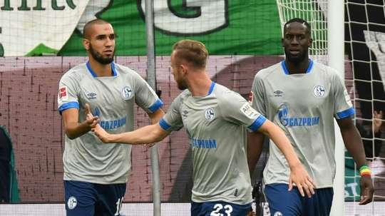 El Schalke necesita la victoria. AFP