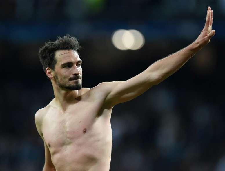 Hummels le da más valor a ganar títulos con el Borussia. AFP