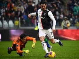 A Juventus procura um goleiro de garantias. AFP