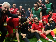 Turkey hold Iceland to reach Euro 2020 alongside France. AFP