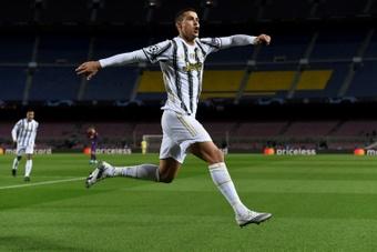 Cristiano Ronaldo dispute son 100e match avec la Juventus. AFP
