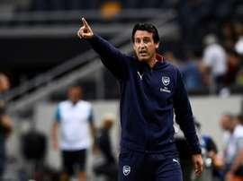 Emery ya ha elegido sus descartes. AFP