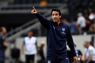 Unai Emery has tried to transform the Arsenal squad. AFP