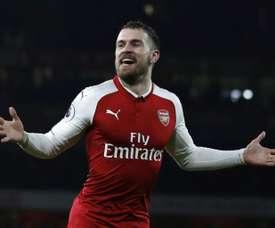 Ramsey será el británico mejor pagado de la historia. AFP