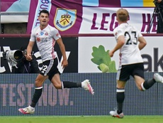 Egan gives Blades share of the spoils at Burnley. AFP