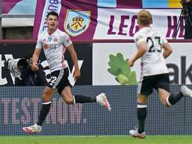 Burnley y Sheffield United se torpedean en su camino a Europa. AFP