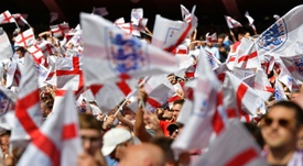 England fans are facing a battle to secure Nations League semi final tickets. AFP
