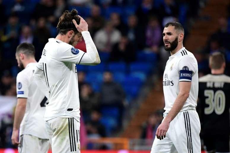 El Madrid falta por primera vez un sorteo de Champions desde 2010. AFP