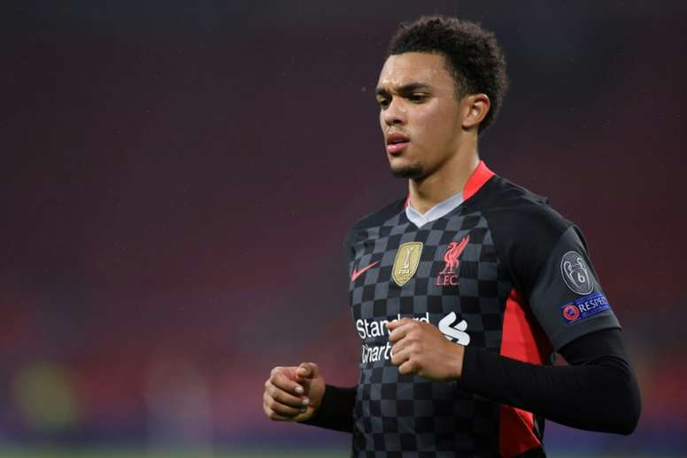 Alexander-Arnold says anything is possible for Liverpool. AFP