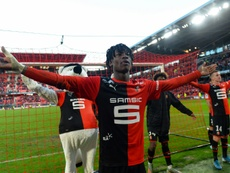 Camavinga is set to stay at Rennes. AFP