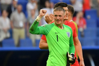 England's number one. AFP
