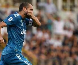 Juventus Italian defender Giorgio Chiellini. AFP