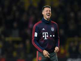 Sandro Wagner has retired from football at the age of 32. AFP