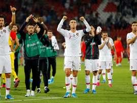 Les compos probables du match de qualification à l'Euro entre la Lituanie et le Portugal. AFP