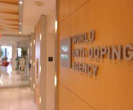 The HQ of WADA in Montreal. The agency will meet on Tuesday to discuss Russia's sanctions. AFP