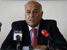Palestinian Football Association head and member of the Fatah Central Committee, Jibril Rajoub. AFP