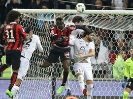 Balotelli ne jouera pas la dernière rencontre de Ligue 1. AFP