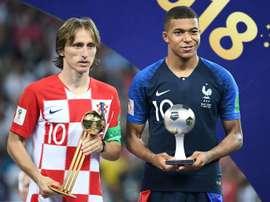 Luka Modric mudaria de clube se fosse Mbappé. AFP