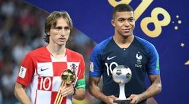 Modric cree que el francés no dejará de progresar. AFP
