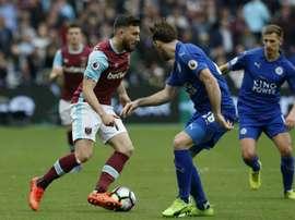 West Ham's Snodgrass receives Scotland call-up. AFP
