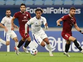 Al Hilal drew 0-0. AFP