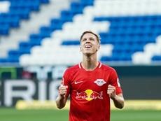 Leipzig won 2-0. AFP