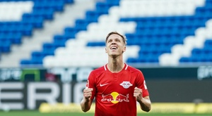 Leipzig won 2-0. AFP