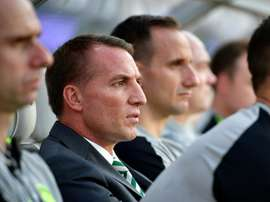 Brendan Rodgers' side had a tough week, before pulling a win out of the bag. AFP