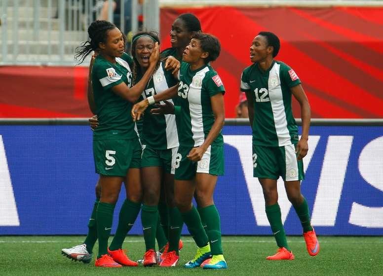 Nigeria está encuadrada en el Grupo A. AFP