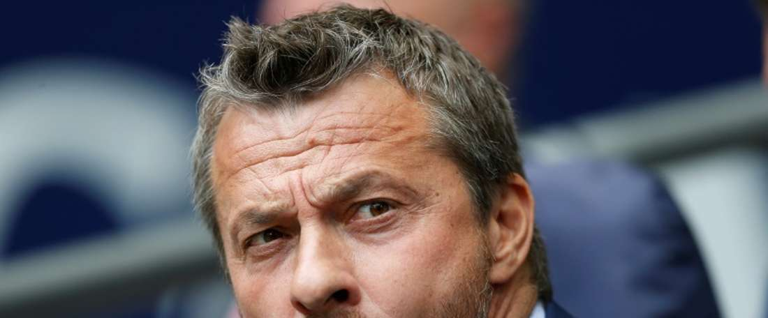 Fulham's Serbian manager Slavisa Jokanovic. AFP