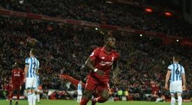 Mané perde a Supercopa da Inglaterra. AFP