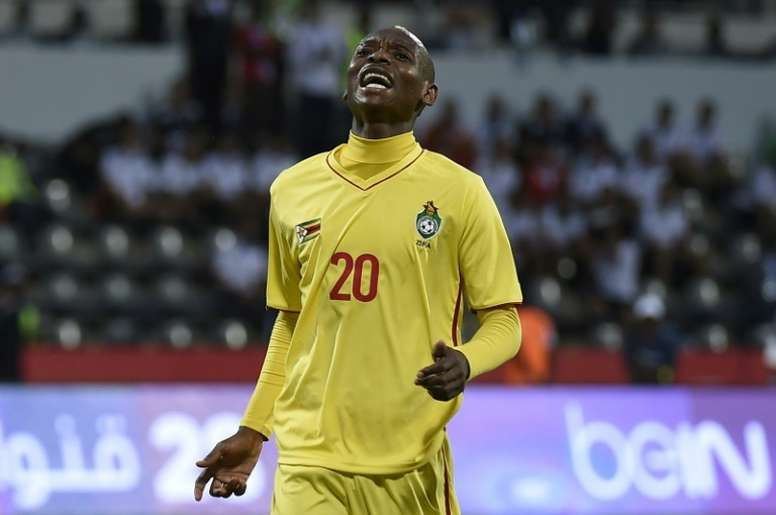 Billiat got his name on the scoresheet twice. AFP