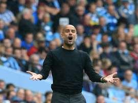 Guardiola se quedó con ganas de acudir a la charla. AFP