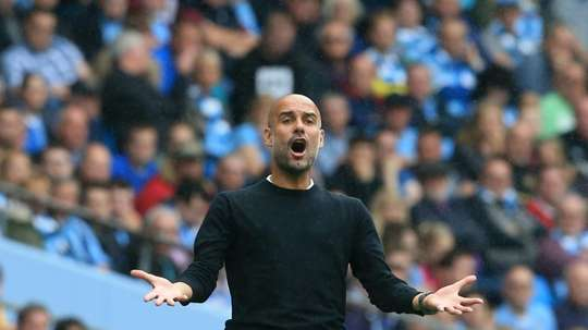 Guardiola has defended the club's documentary. AFP